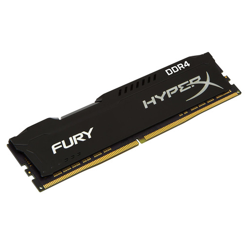 HyperX FURY Black 8GB DDR4 2400MHz memoria