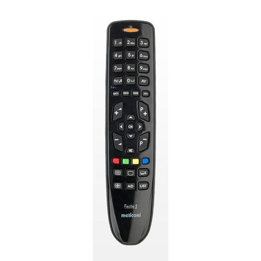 Meliconi Facile 1 telecomando IR Wireless TV Pulsanti