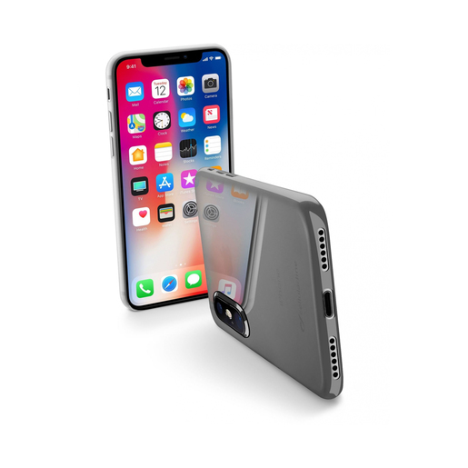 Image of Cellularline Zero - iPhone X 5.8'' Cover Traslucido custodia per iphone